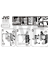 JVC RK-C28E1S TV Accessories Assembly instructions (2 pages)