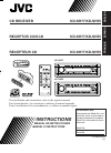 JVC KD-SH55 Car Receiver Instructions manual (92 pages)